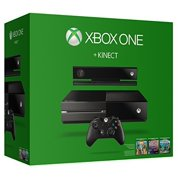 Xbox One 500GB Console with Kinect (No Chat Headset Included)