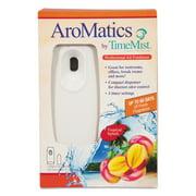 TimeMist AroMatics Dispenser/Refill Kits, 3oz Tropical Splash Refill, White Dispenser