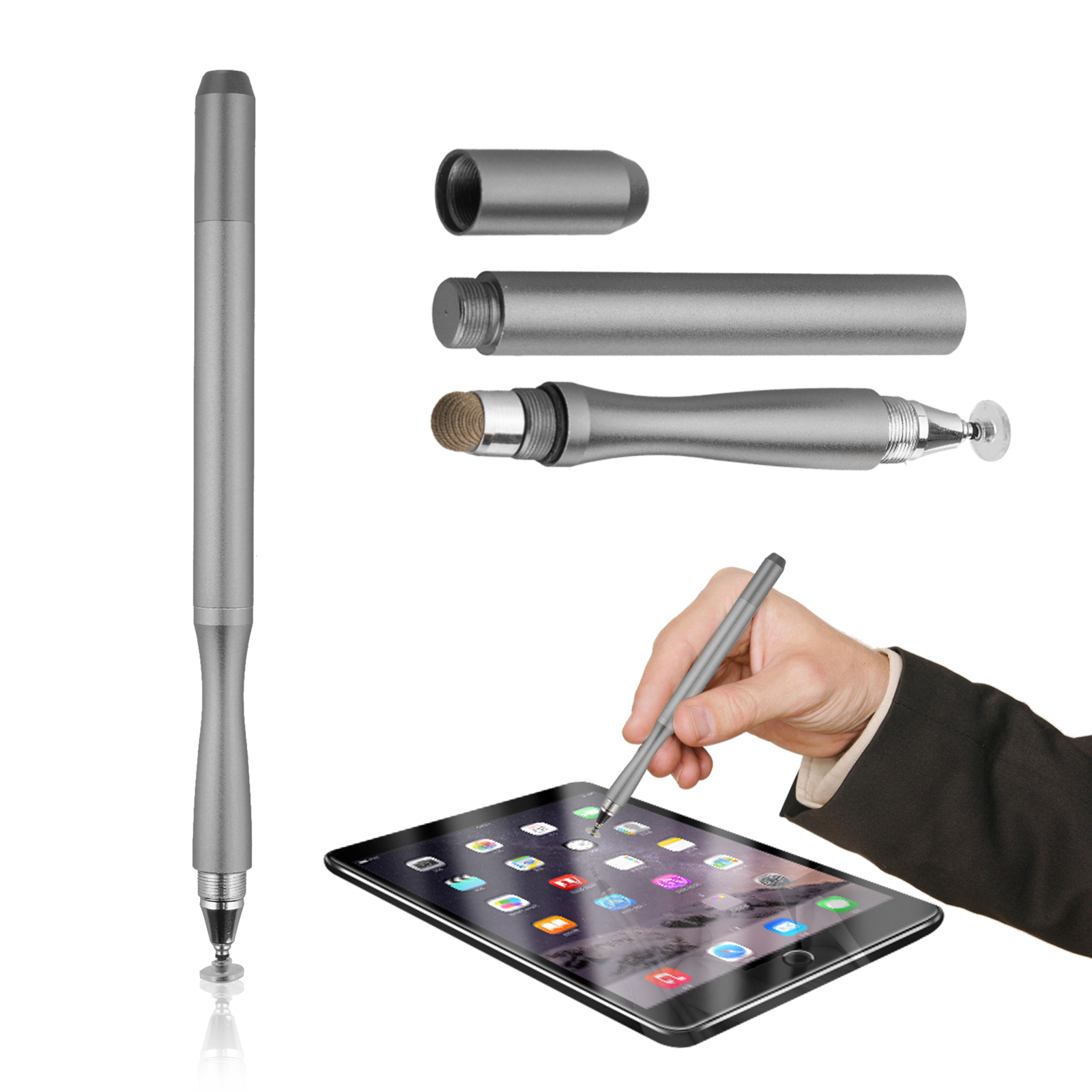 TSV Capacitive Pen Touch Screen Stylus Pencil for Tablet iPad Cell Phone Samsung PC