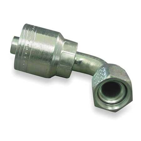 eaton aeroquip fitting, elbow, 3/8 in hose, 9/16-18 jic 1aa6fjb6
