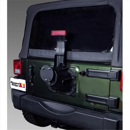 Rugged Ridge 11585.02 Spare Tire Spacer, 76-14 Jeep CJ And Wrangler - image 2 of 2