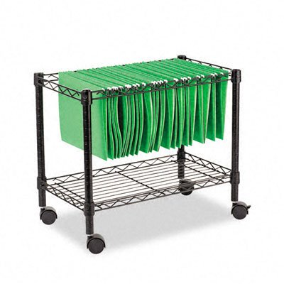 ALEFW601424BL - Best Single-Tier Rolling File Cart, Sold as 1 Each. By (Best Distributed File System)