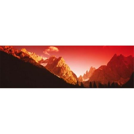 Panoramic Images PPI50167L Dolomites  Italy Poster Print by Panoramic Images - 36 x 12 - image 1 of 1