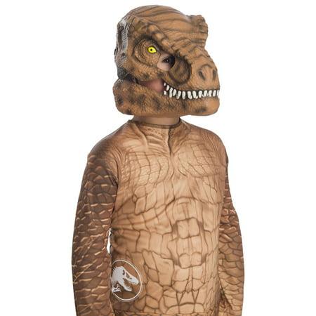 Jurassic World: Fallen Kingdom Tyrannosaurus Rex Movable Jaw Child Mask Halloween Costume Accessory