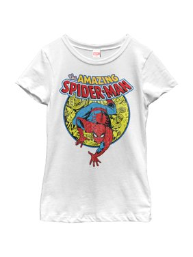 Marvel Girls' Amazing Spider-Man Responsibility T-Shirt