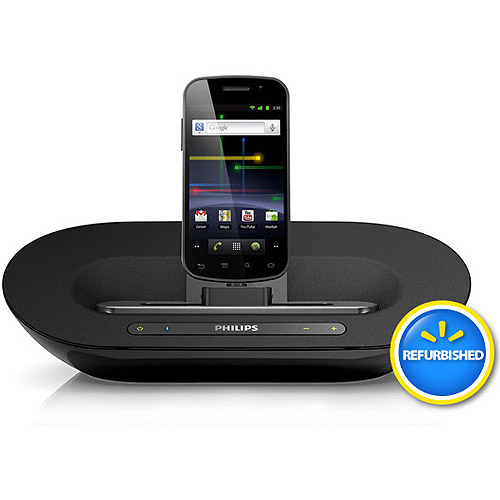 Philips AS351/37 Fidelio Docking Speaker System for Android Devices, Black, Refurbished