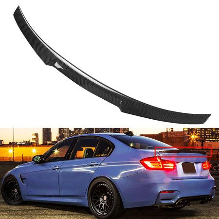 Carbon Fiber M4 Look Style Trunk Spoiler For 2012-17 BMW F30 3 Series 335i 328i ()
