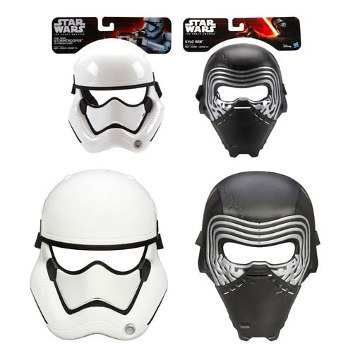 Star Wars: The Force Awakens Masks Wave 1 Case (Number of Pieces per case: 6)