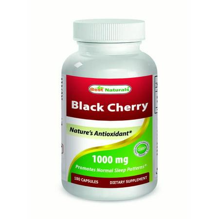 Best naturals black cherry 1000 mg 180 capsules
