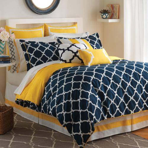 Jill Rosenwald Hampton Links Comforter Set Queen