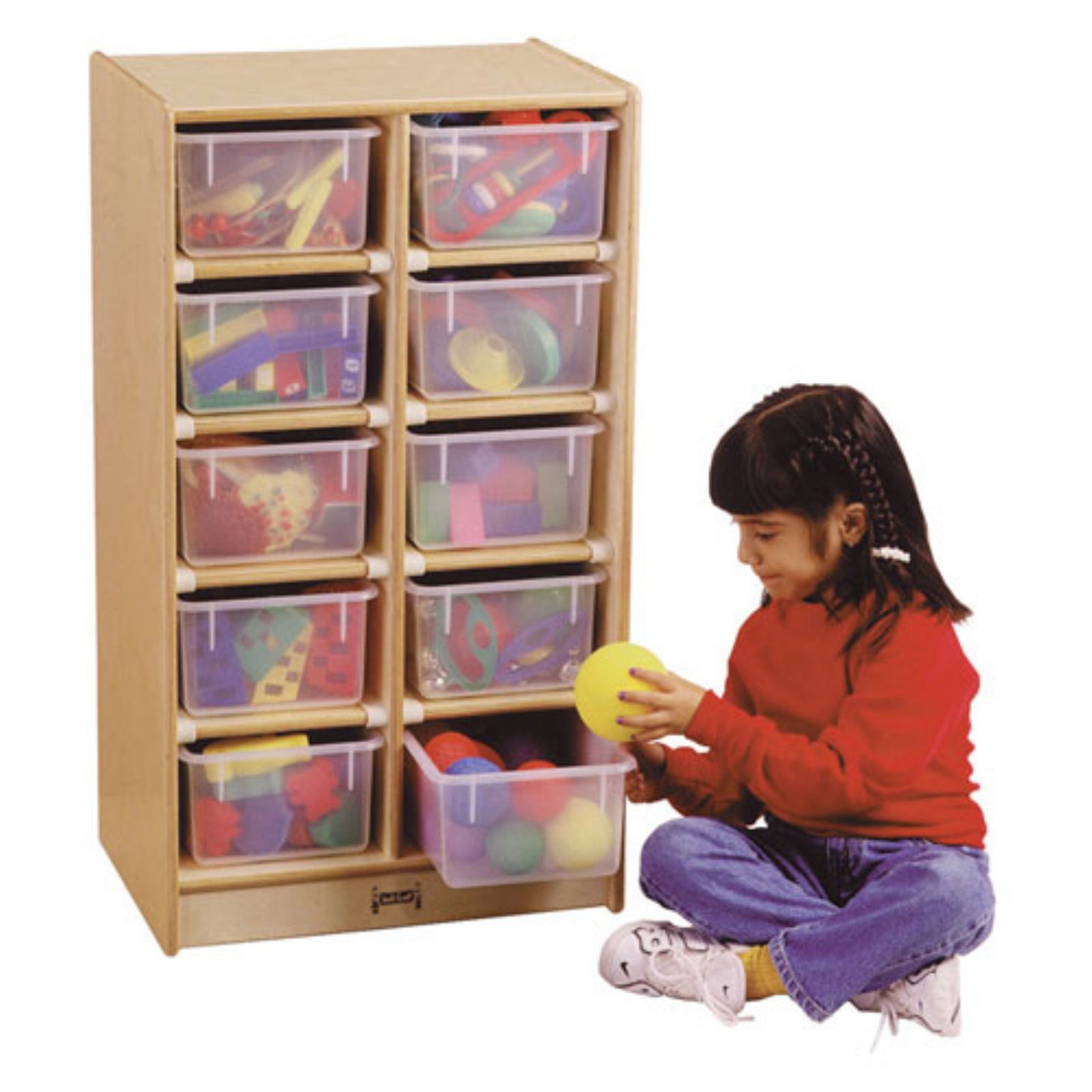 Kydz 10 Tray Mobile Storage Cubbie
