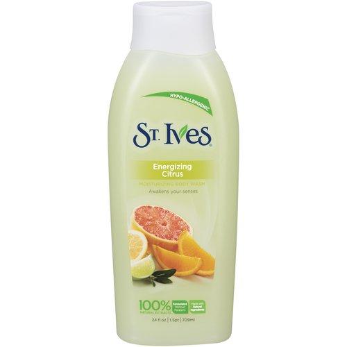 St Ives Energizing Citrus Body Wash, 24 oz