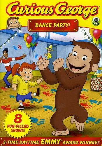 Curious George: Dance Party! (DVD) by UNIVERSAL STUDIOS HOME ENTERT.