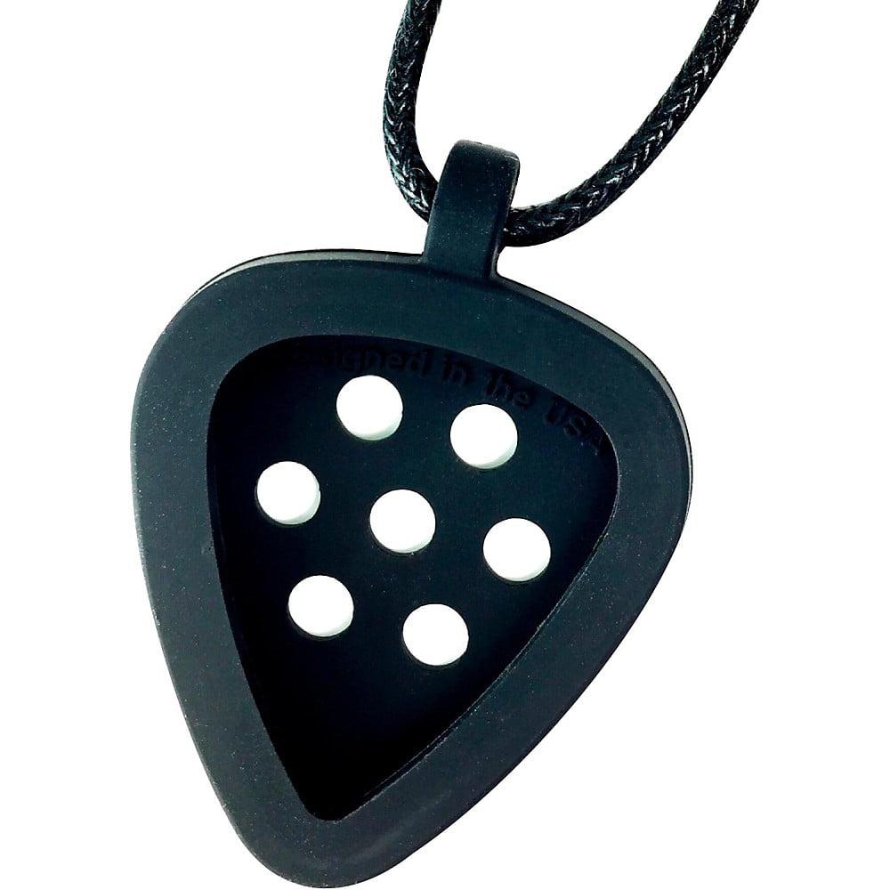 Pickbandz Morphic Guitar Pick Necklace Black