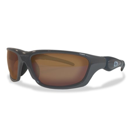 Amphibia Exodus Sandstorm Full Frame Sunglasses w/Aquaphobic Coating, Gray](Breast Cancer Sunglasses)