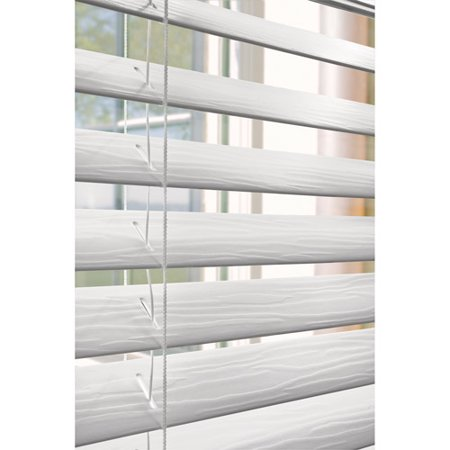 faux horizontal window wood blinds home furniture
