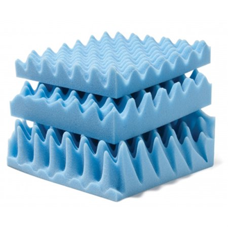 Lumex Convoluted Foam Mattress Pads - 4 Inches Queen Mattress Pad