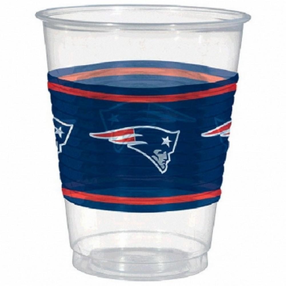 NFL New England Patriots Cups 16 oz. [25 cups]