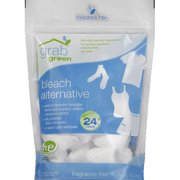 Grabgreen Fragrance Free Bleach Alternative, 24 Count, 6 Pack