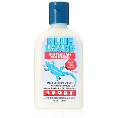 Blue Lizard Australian Sunscreen SPF 30+ Sport, 5 Oz