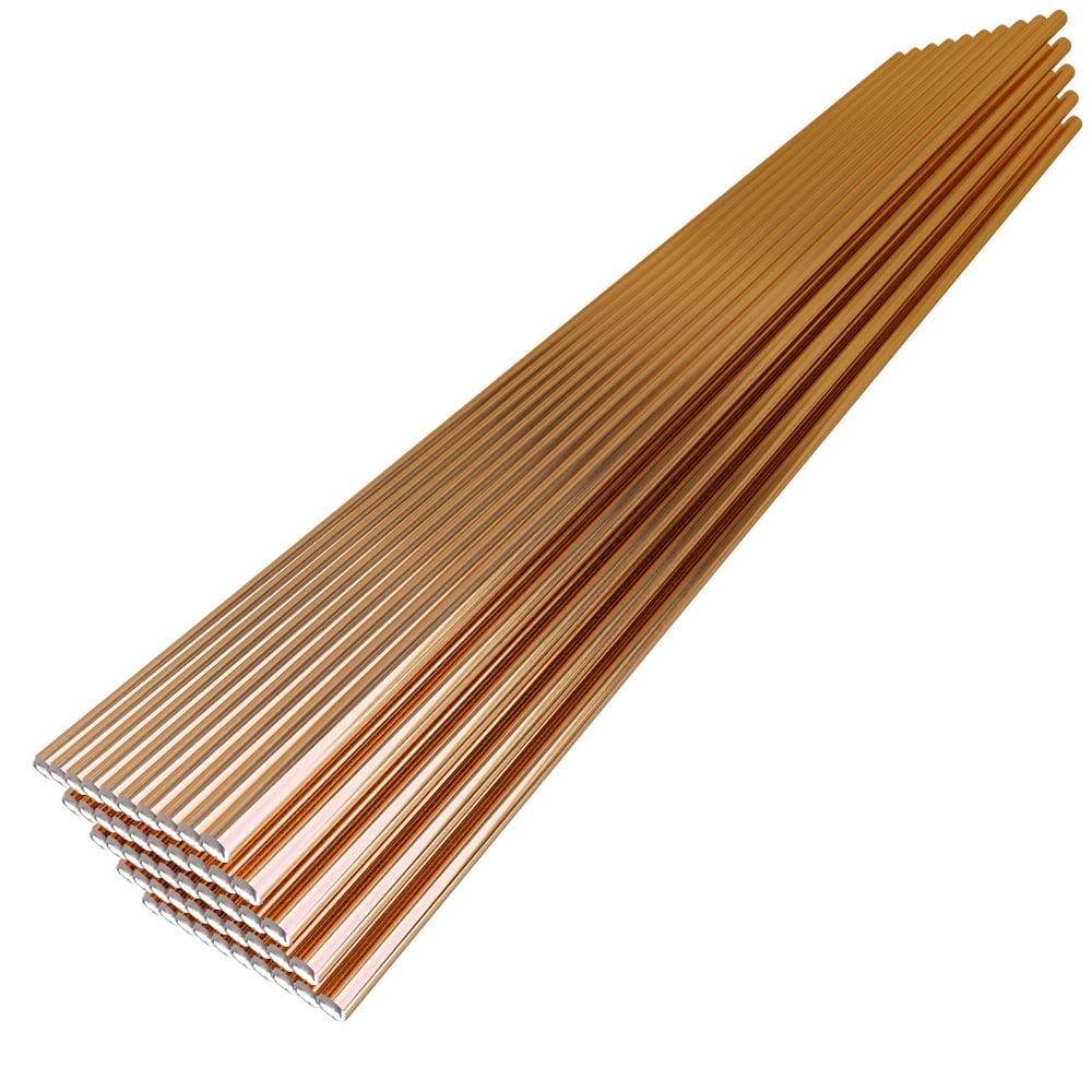 50pcs 70S-6 Solid Welding Wire Electrode 1.6mm*330mm Mild Steel CO2 Ar Gas Soldering Rod No Need Solder Powder