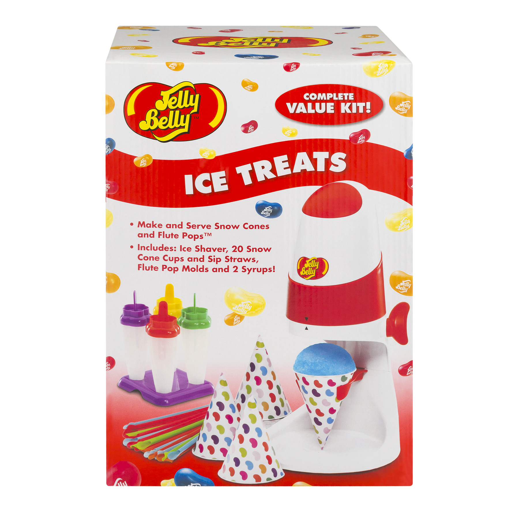 Jelly Belly Ice Treats Complete Value Kit, 1.0 KIT