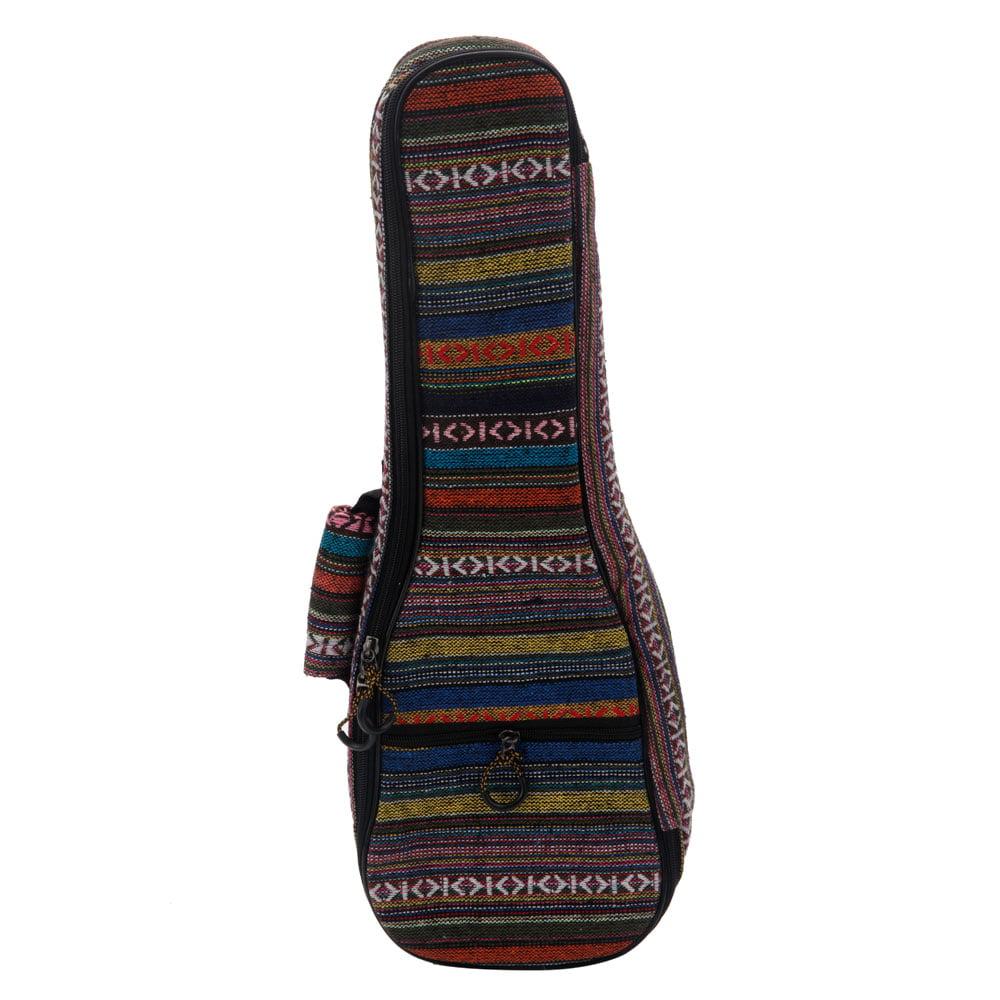 Ktaxon 21inch 23inch 26inch National Ukulele Padded Bag Ukulele Soft Case for Soprano Uku Ukelele Soft