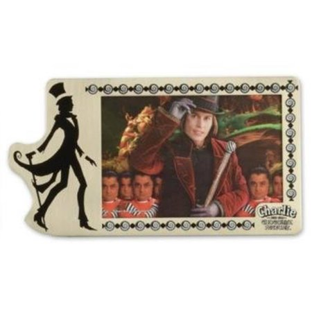 Charlie and the Chocolate Factory Pewter Picture -