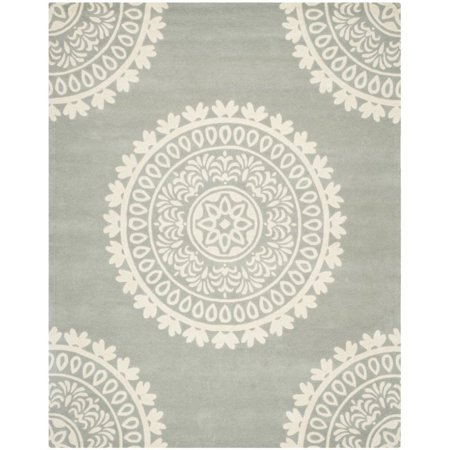 """Safavieh Bella 2'3"""" X 11' Hand Tufted Wool Rug in Gray and Ivory - image 1 de 1"""