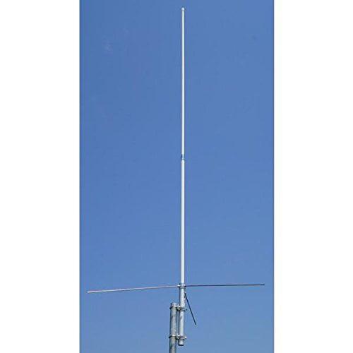 TV Antenna Amateur Dual-Band Base 17 ft Omnidirectional Heavy-duty fiberglass