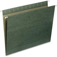 Smead Hanging File Folder, Letter Size, Standard Green, 25 per Box (64010)