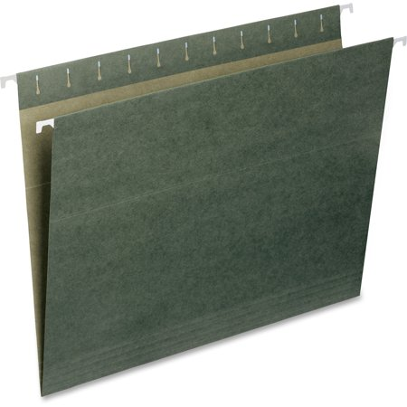 Smead Hanging File Folder, Letter Size, Standard Green, 25 per Box (Copy List Of Files To Another Folder)