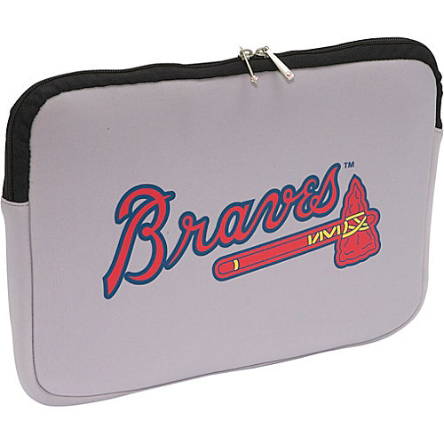 Centon Electronics Atlanta Braves MLB Laptop Sleeve