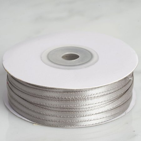 "Efavormart Multiple Colors Wedding Party Decoration 1/8"" Satin Ribbon 100 yards"