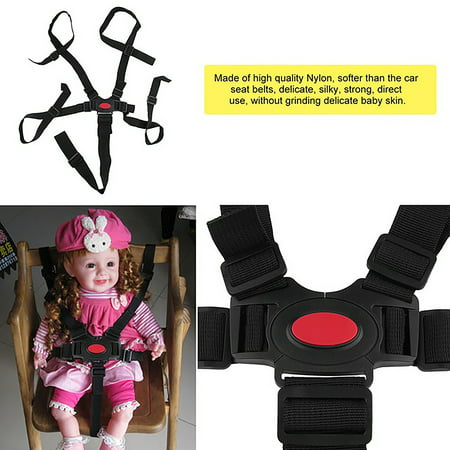 - Universal Baby Safety Seat Belts for Stroller High Chair Kids Safe Protection Seat Stroller Belt 5 Point Harness