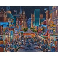 Jigsaw Puzzle  Washington Dc 500 Pc By Dowdle Folk Art By Dowdle Folk Art Sonstige