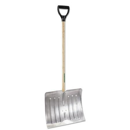 Arctic Blast 18in Aluminum Snow Shovel, 51in Long ()