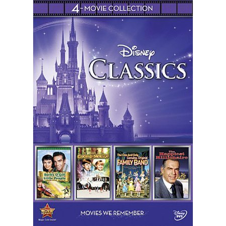 Disney 4-Movie Collection: Classics (DVD) (All Halloween Movies On Disney Channel)