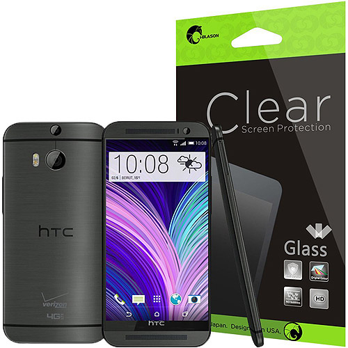 i-Blason HTC One M8 Smartphone Screen Protector, Clear