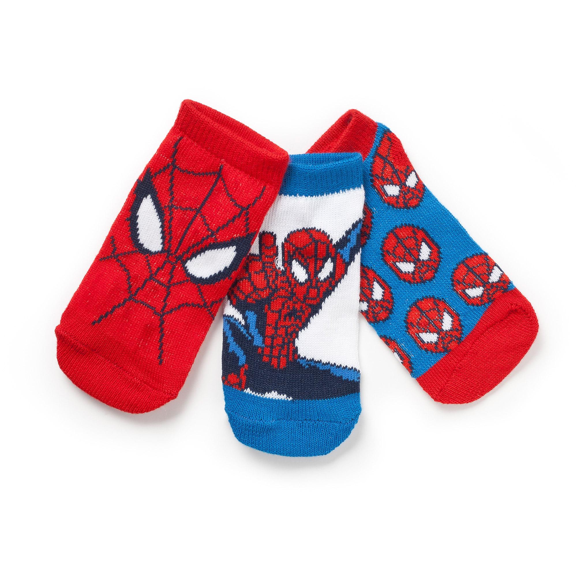 Baby Toddler Boy Crew Socks 3 Pack Walmart