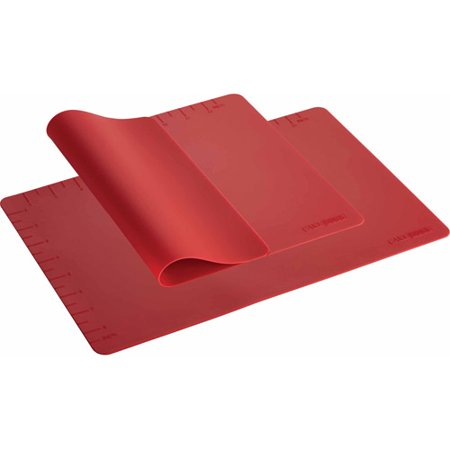 cake boss countertop accessories 2 piece silicone baking mat set. Black Bedroom Furniture Sets. Home Design Ideas