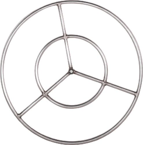 Stainless Steel Fire Ring - 19 inch