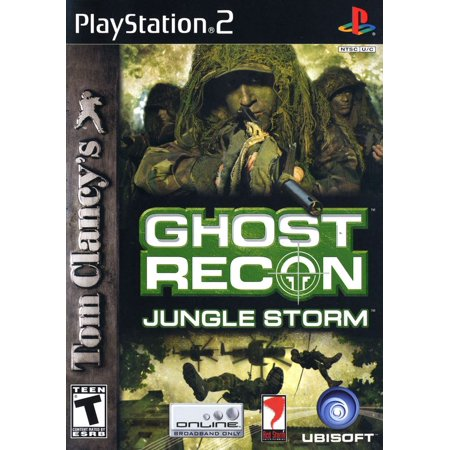 Ghost Recon Jungle Storm - PS2 (Refurbished) (Ghost Brigade One With The Storm)