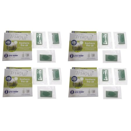 Hamilton Beach True Air Scent Refill 12 Packs Plug Wall Mount Air Cleaners Scent 12 Refills