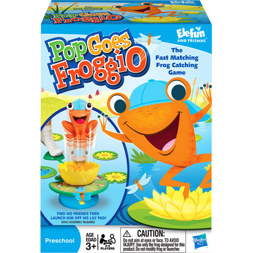 Hasbro Pop Goes Froggio Game Matching Game Childerens Game by