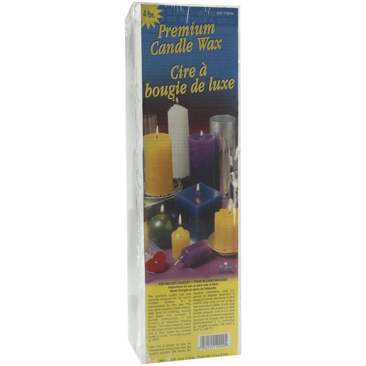 Premium Candle Wax, 4 Pound Block