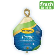 Butterball All Natural Premium Young Turkey, Gluten-free, Fresh, 10-16 lbs.