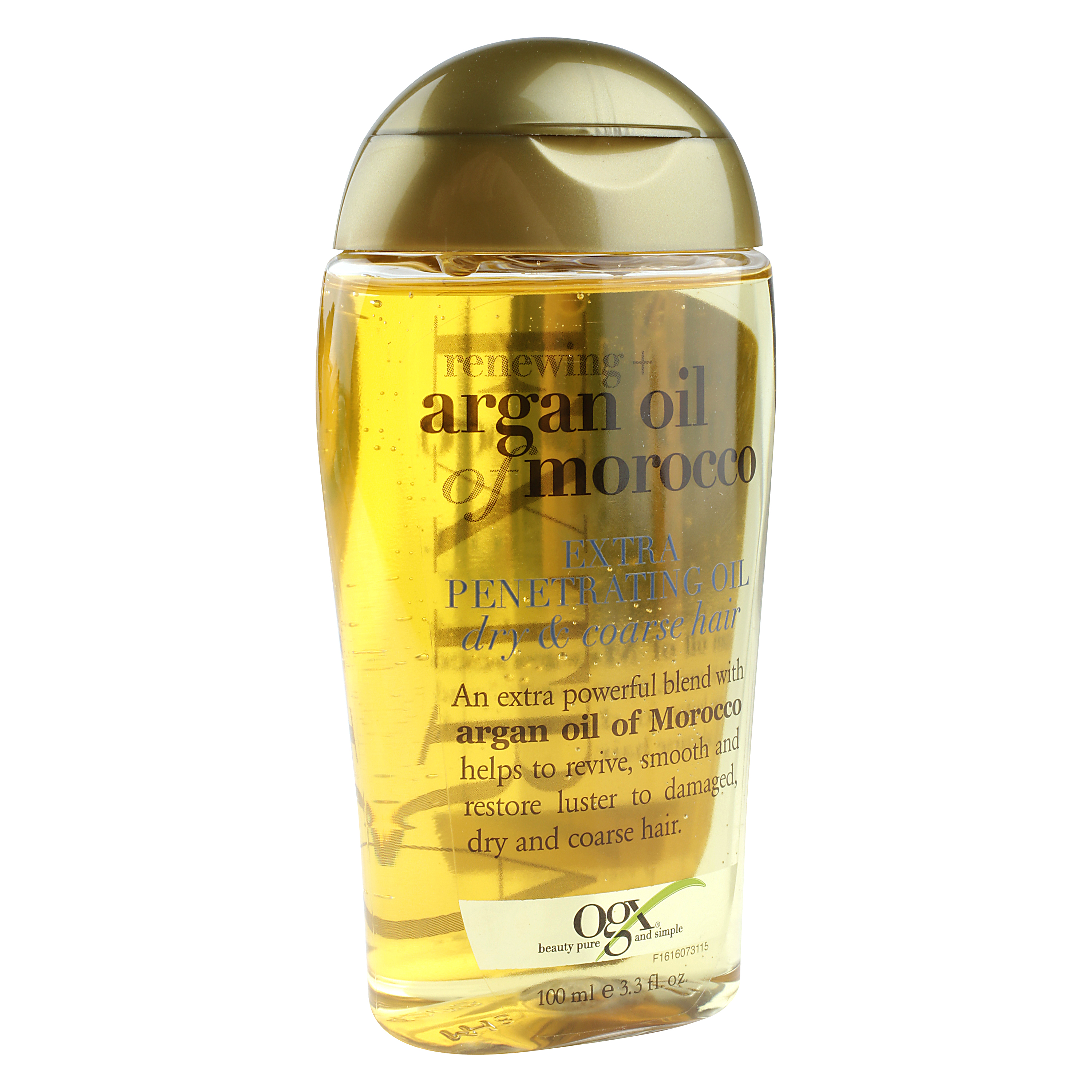 OGX Renewing Moroccan Argan Oil Extra Penetrating Oil, Dry & Course Hair, 3.3 oz