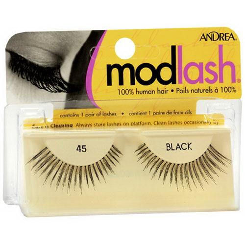 Ardell Mod Lash False Strip Lash, Black [45] 1 ea