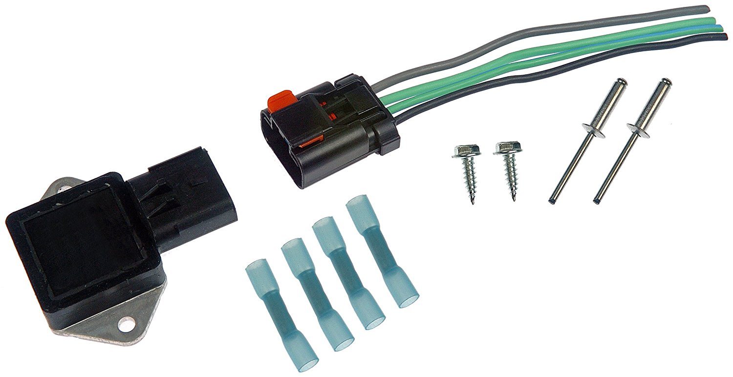 902 303 Radiator Fan Relay Kitdorman And Pigtail Jeep Wiring By Dorman